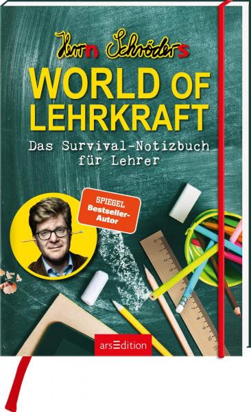 """Notizbuch """"World of Lehrkraft"""""""