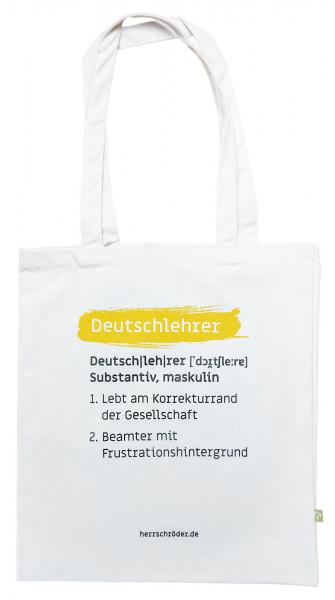 """Tasche """"Deutschlehrer"""""""