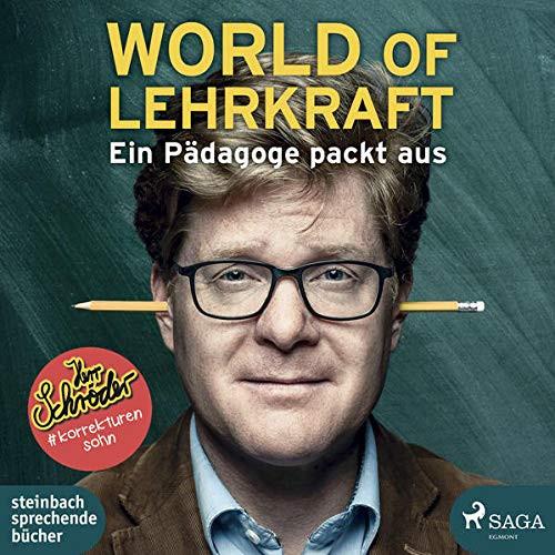 """Hörbuch-CD """"World of Lehrkraft - Ein Pädagoge packt aus"""""""